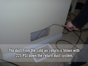 cold air return cleaning