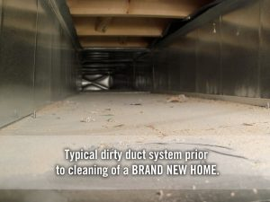 dirty dusty duct work