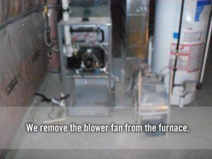 blower fan removed