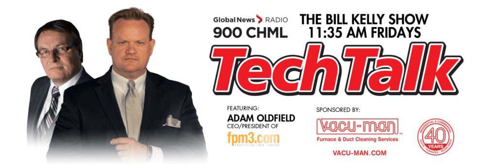 Vacu-Man sponsors 900 CHML TechTalk