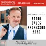 Adam Oldfield Teaches Mohawk College