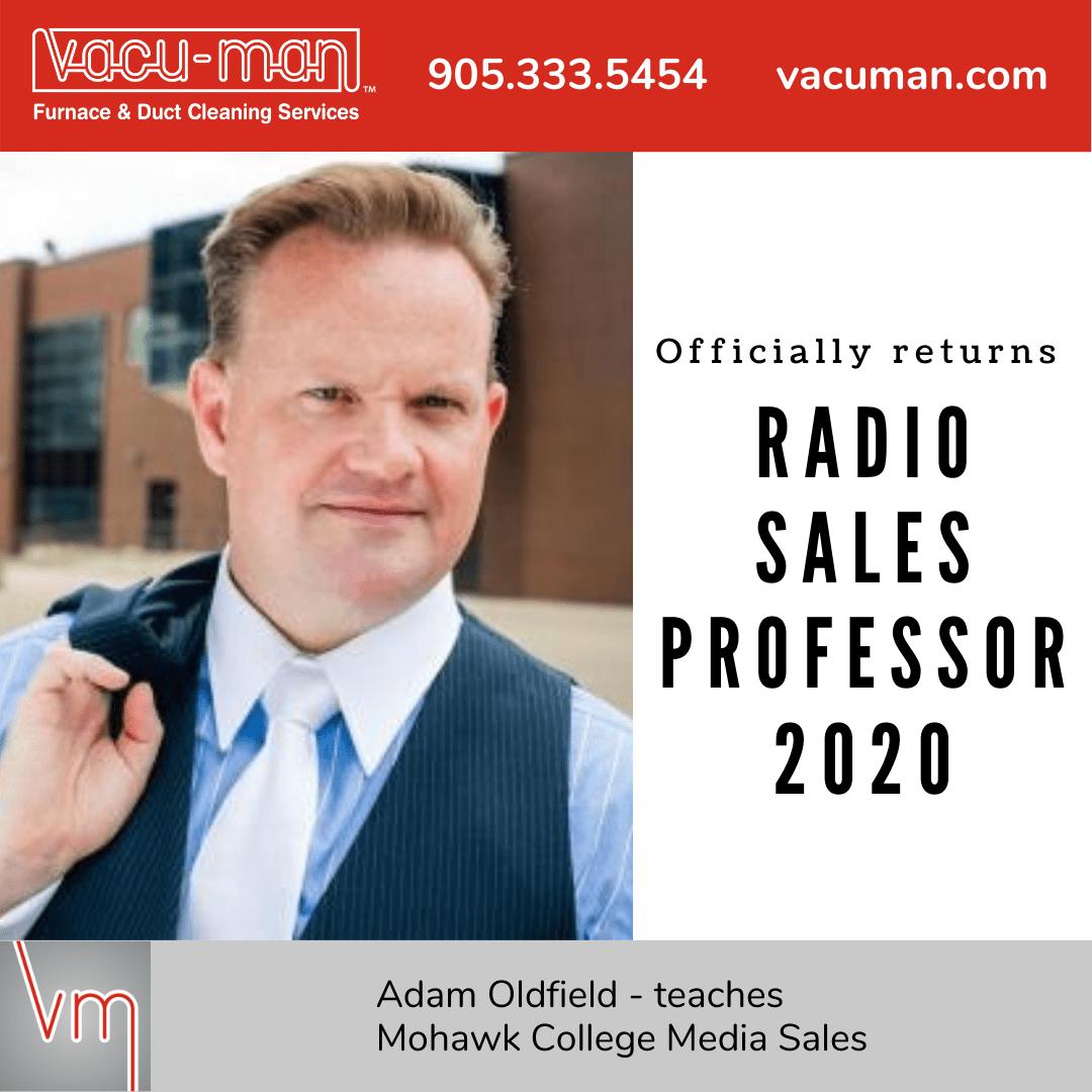 President Adam Oldfield - Teaches Mohawk College