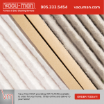 VM furnace air filters
