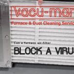Air filter blocks virus