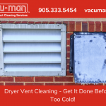 Dryer Vent Cleaning - Get It Done Before It's Too Cold!