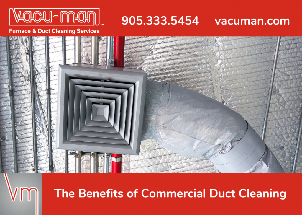The Benefits of Commercial Duct Cleaning