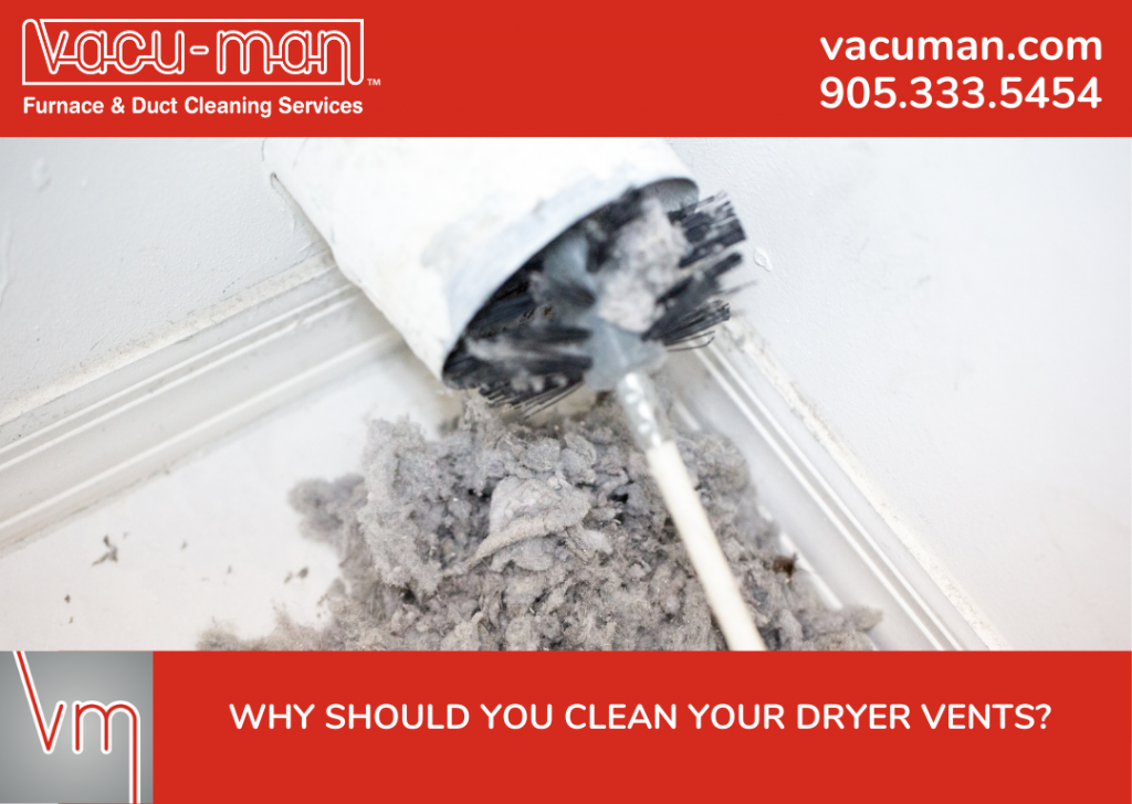 Why Should You Clean Your Dryer Vents