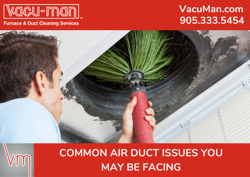 Common Air Duct Issues You May Be Facing