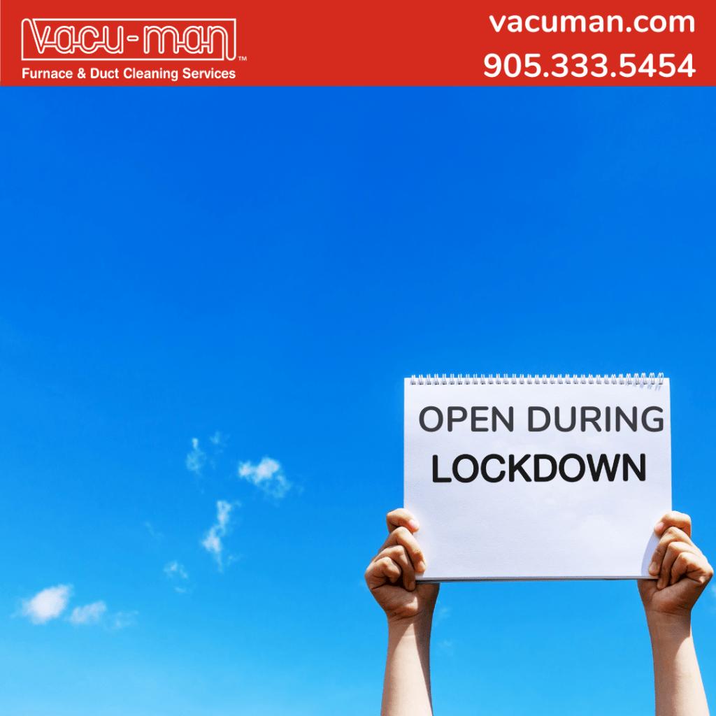Business lockdown not shutdown